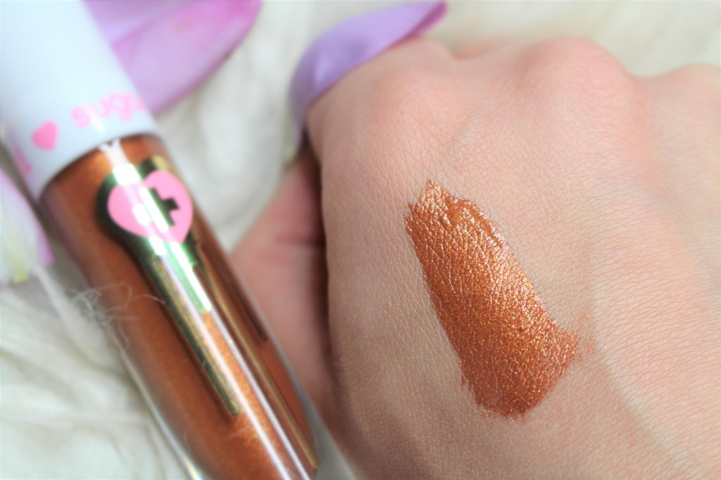 sugarpill pumpkin spice swatch review