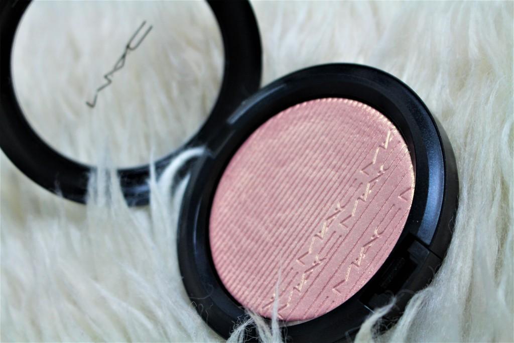 MAC extra dimension skinfinish beaming blush review
