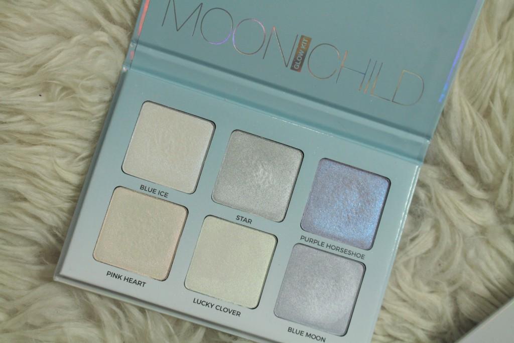 Anastasia Beverly Hills Moonchild highlighting palette review