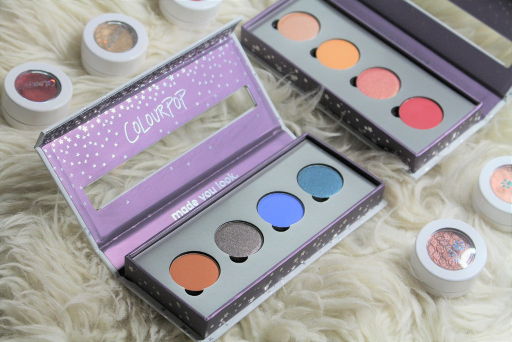 Colourpop pressed shadows review