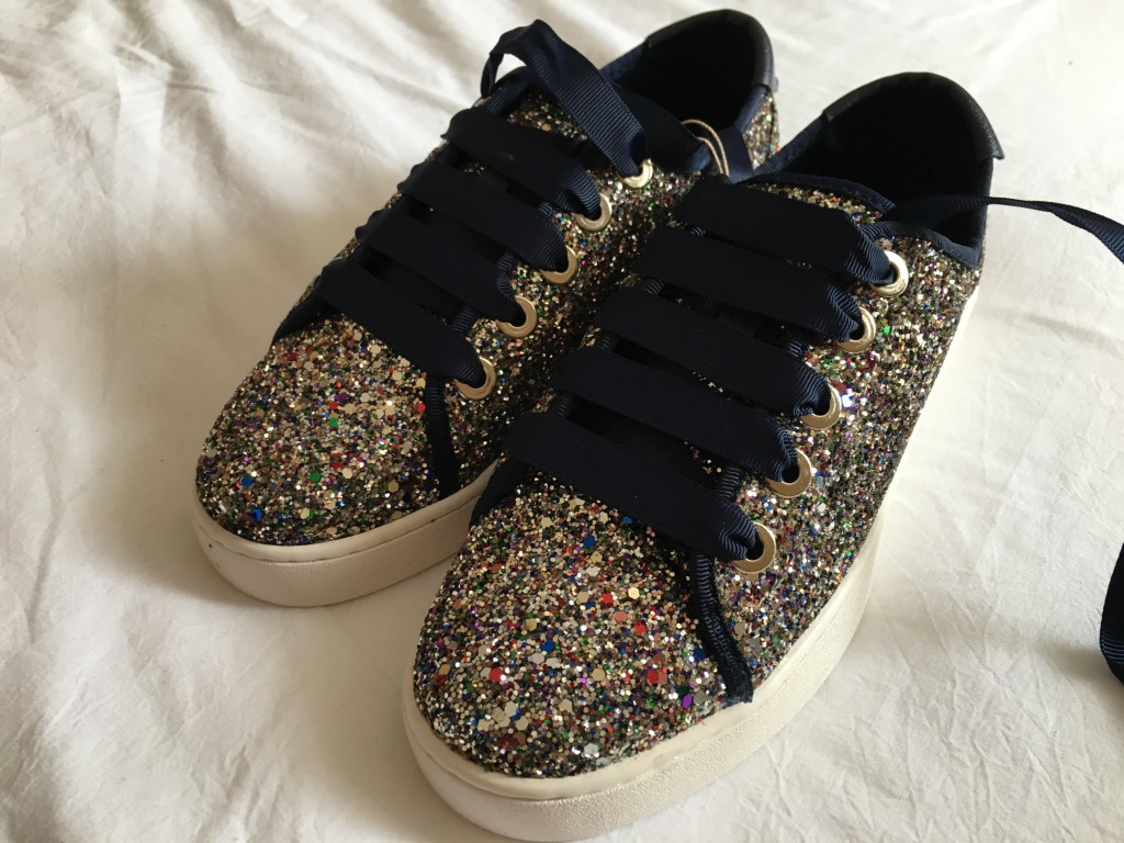 stradivarius glitter schoenen gran canaria