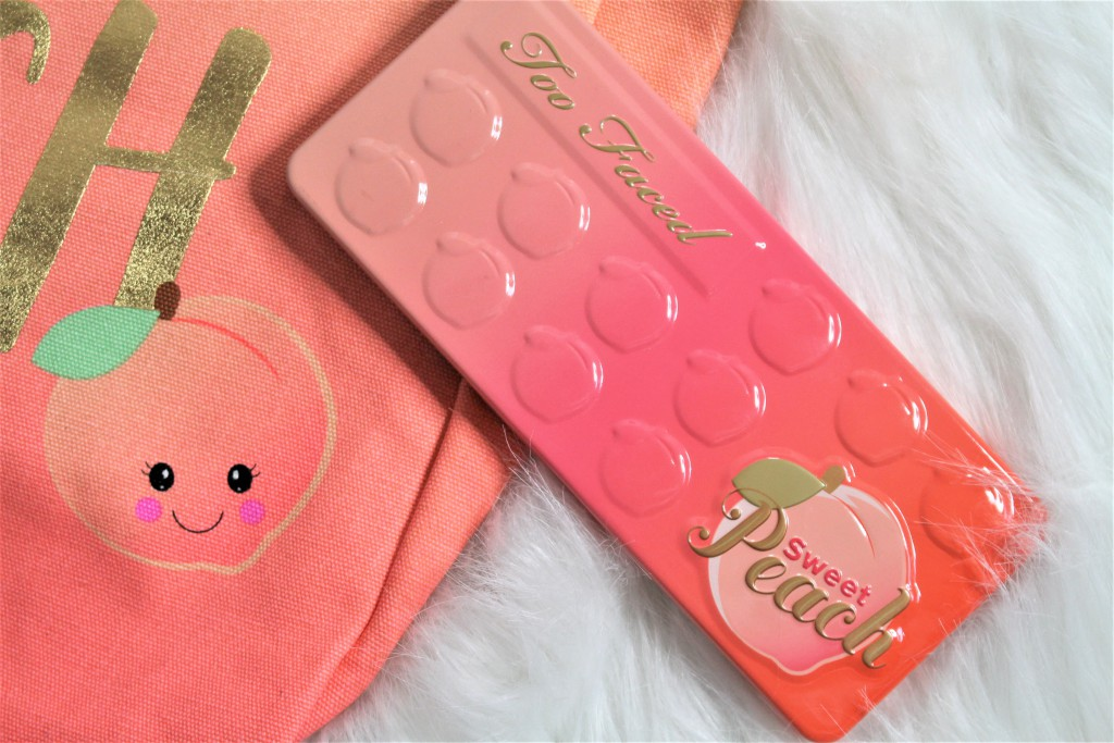 too faced sweet peach review eyeshadow palette
