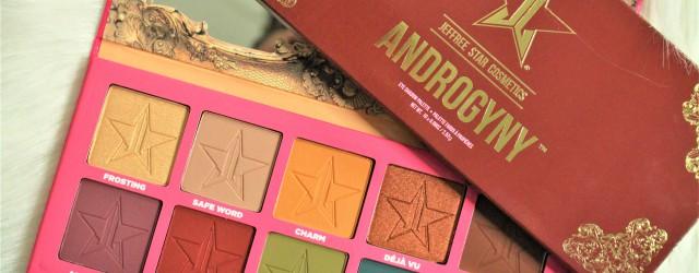 review jeffree star cosmetics androgyny eyeshadow palette