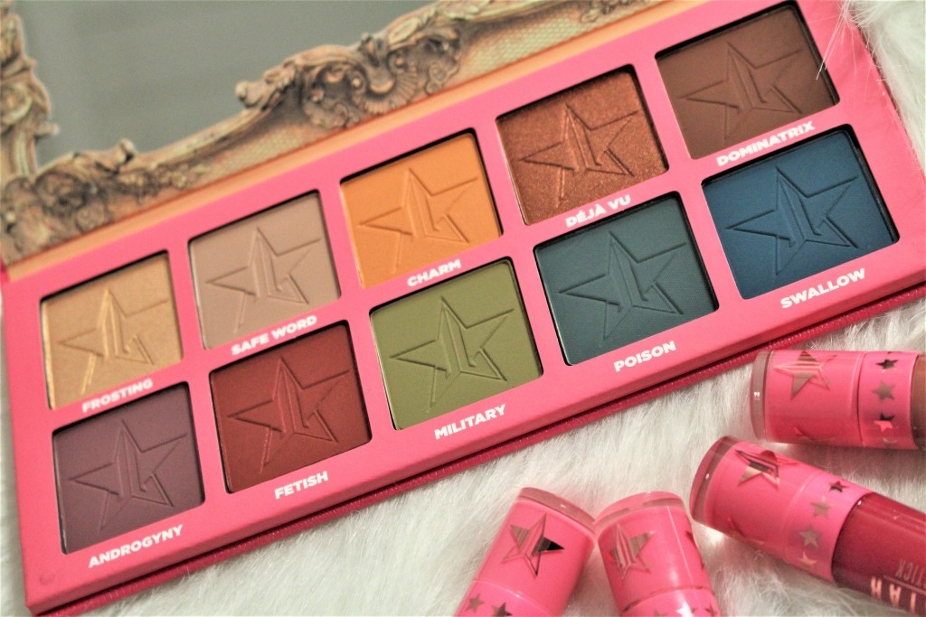 jeffree star cosmetics androgyny palette review