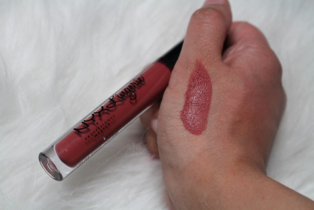 nyx lip lingerie exotic review