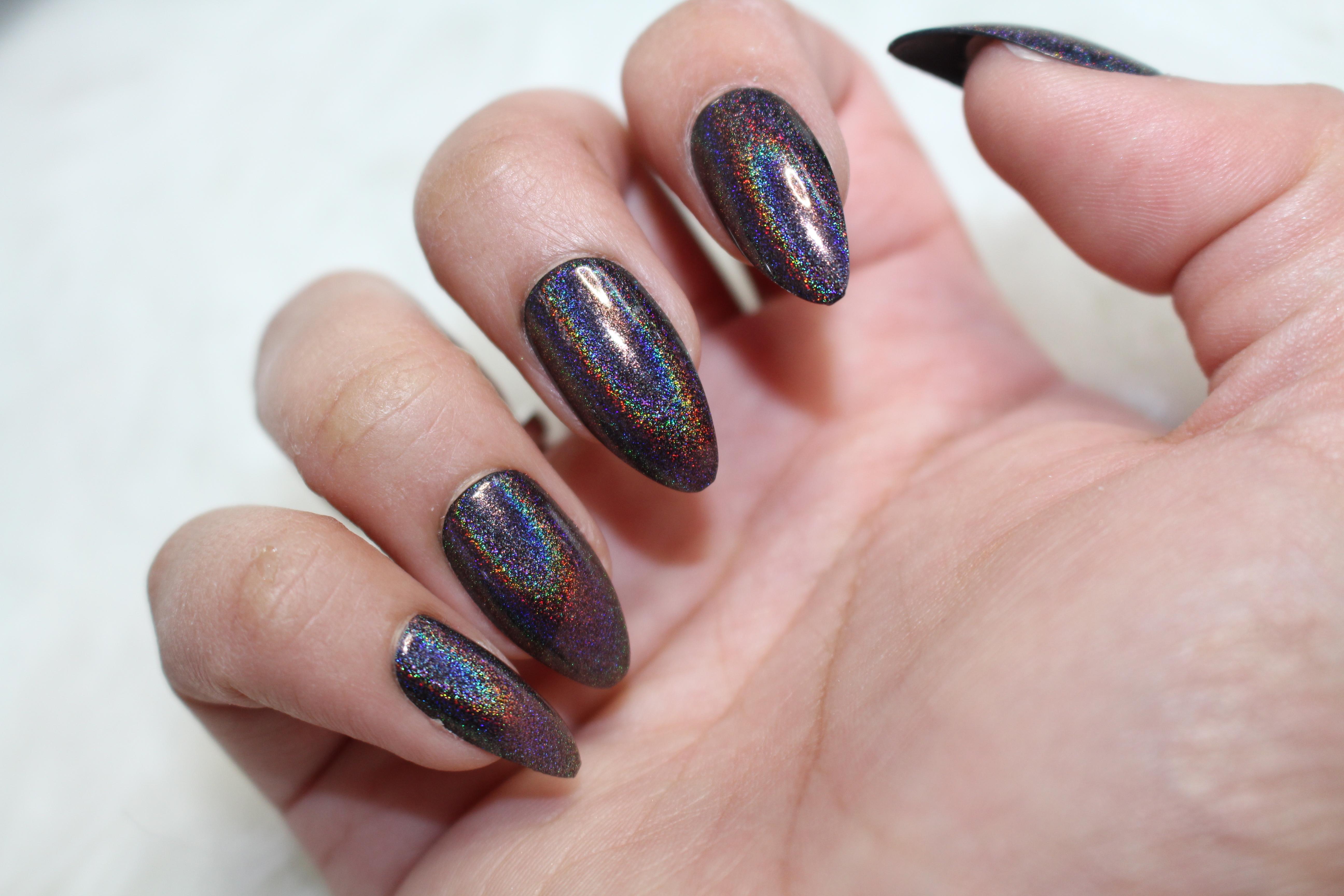 Primark nagels! | Holografisch, rose metallic & matte