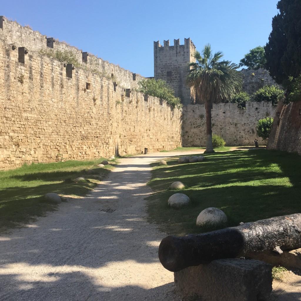 Rhodos oude middeleeuwste stad vakantie