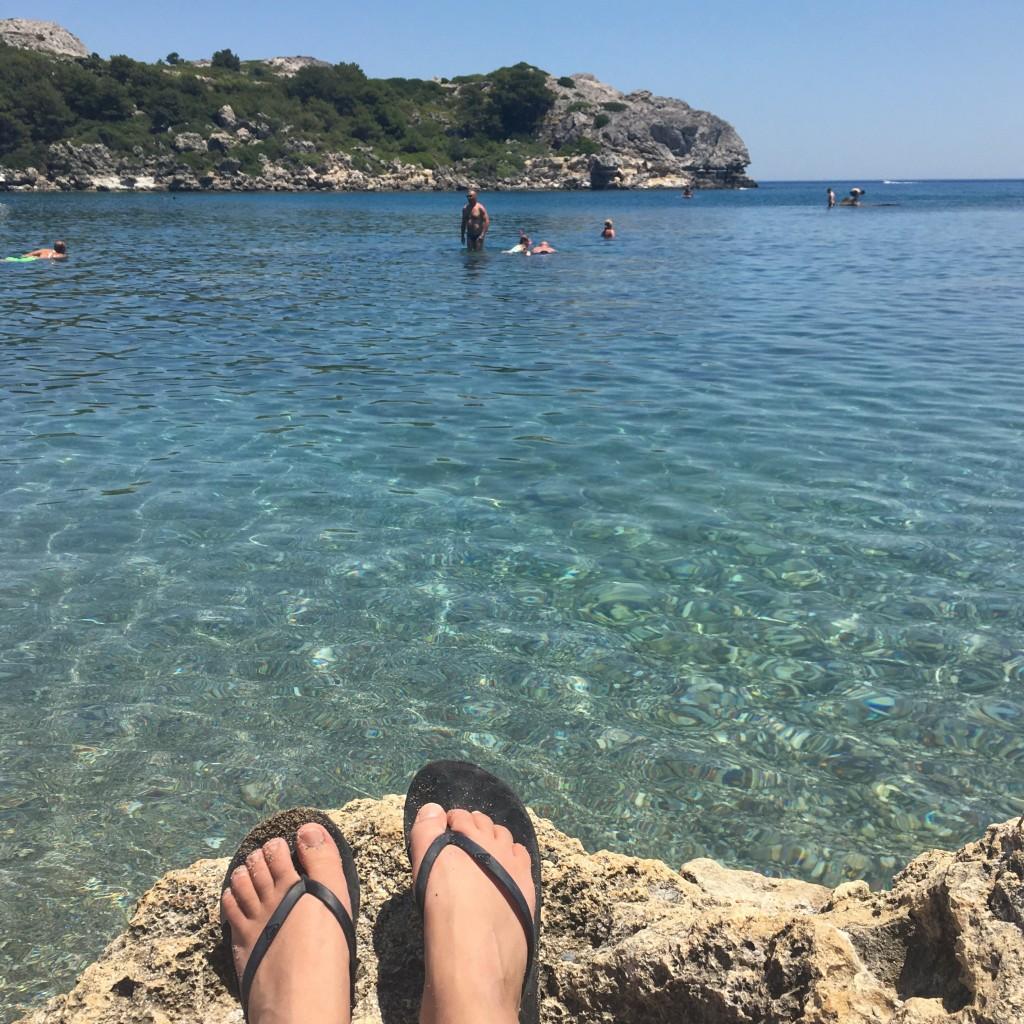 Rhodos Oceanis strand faliraki baai