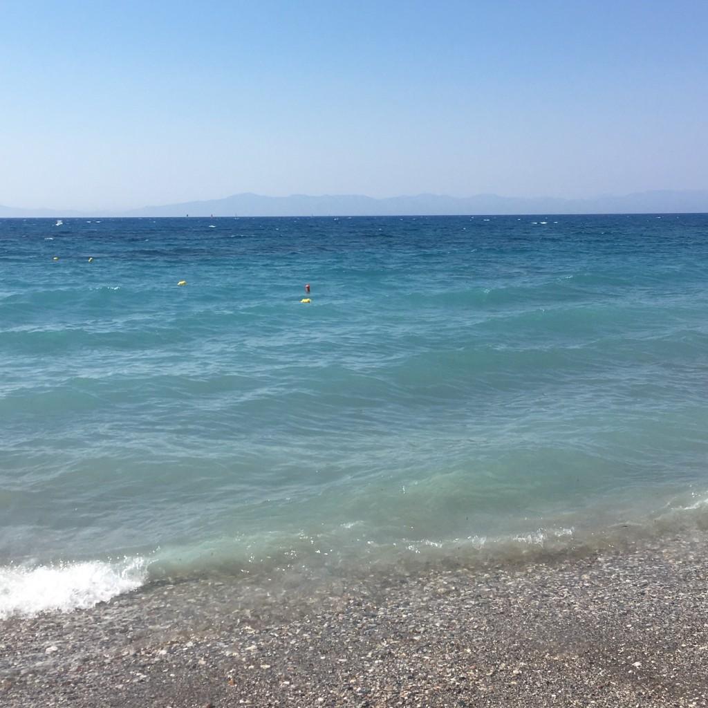 Rhodos Oceanis hotel strand