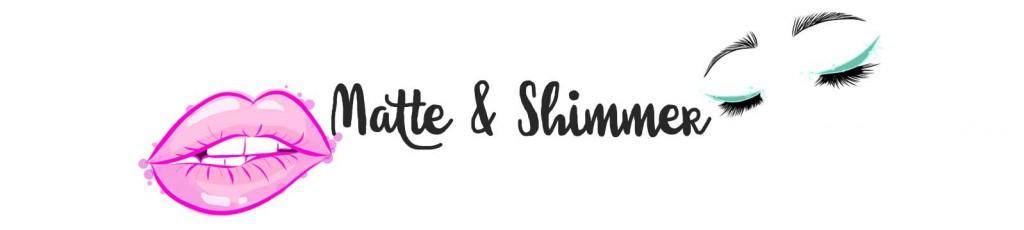 Matte & Shimmer beautyblog