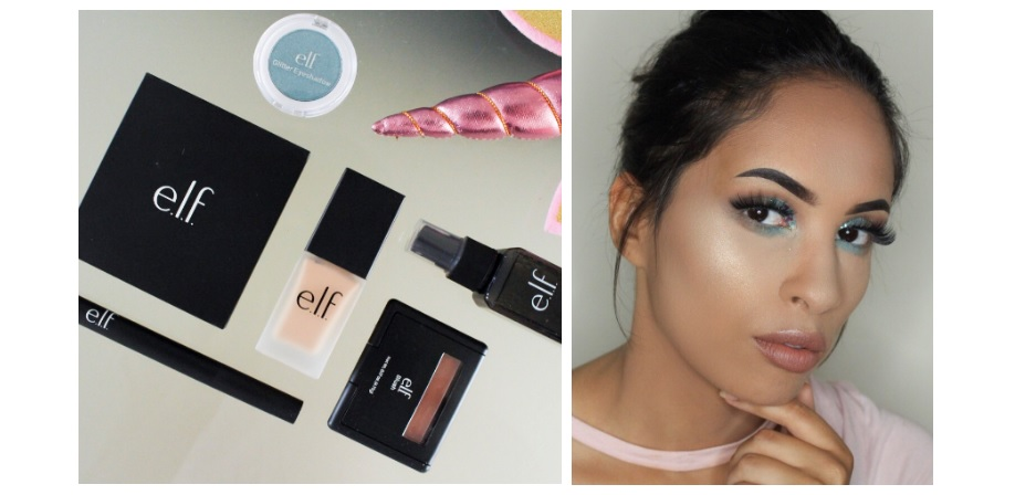 Full face ELF make-up look | 6x review!