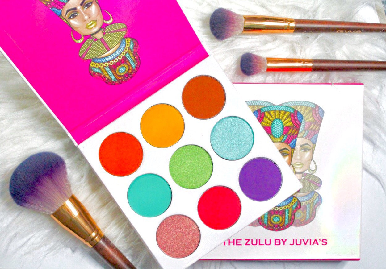 Juvia's Place Zulu Eyeshadow Palette review & look