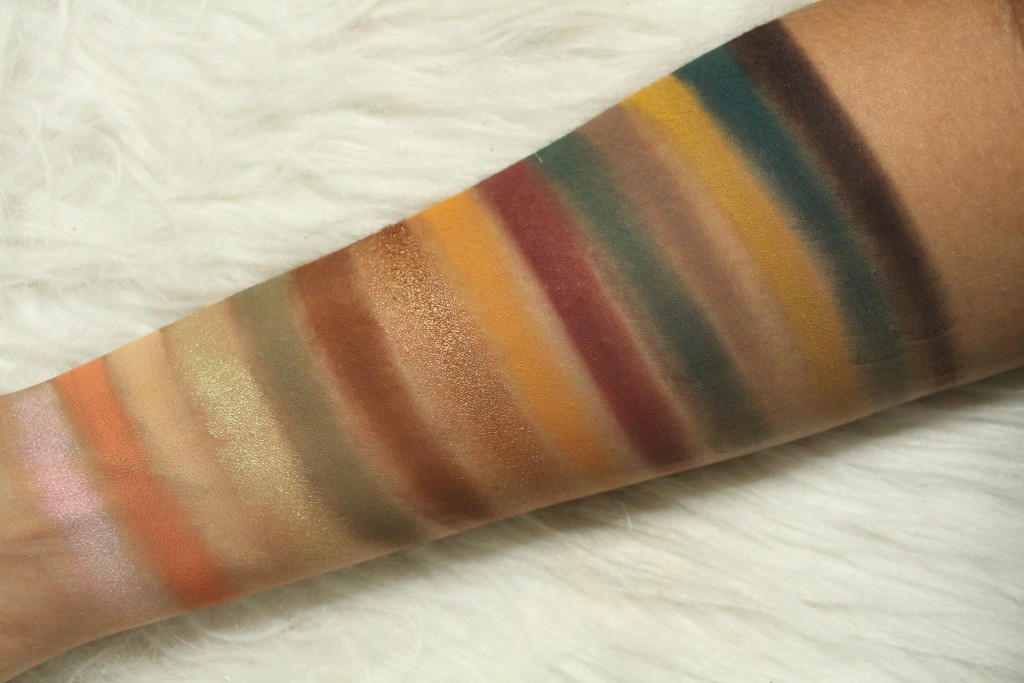 Anastasia Beverly Hills Subculture palette swatches