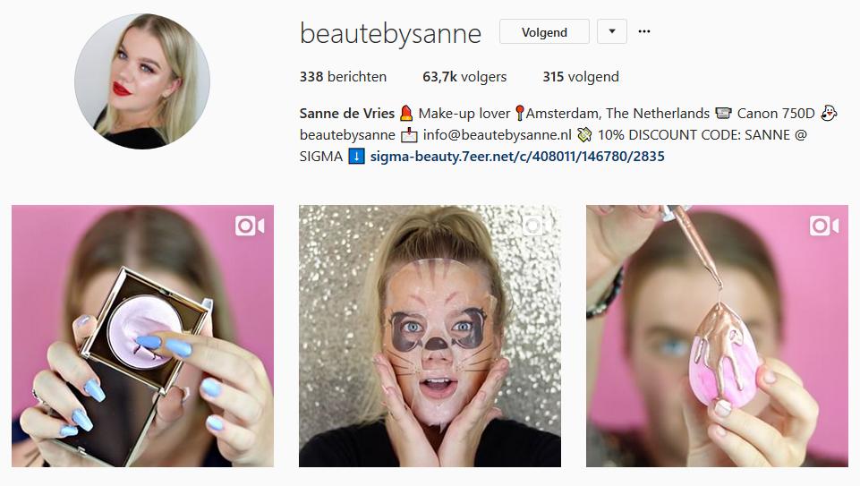 Sanne vertelt: in 3 maanden van 5.000 naar 63.000 Instagram volgers!