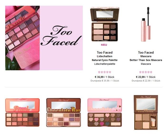 Waar je vanuit Nederland Too Faced make-up kan bestellen