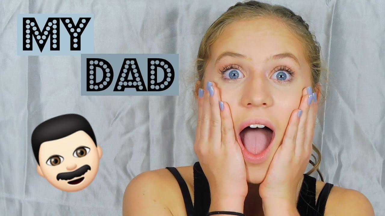 De leukste 'dad does my voiceover'  make-up tutorials