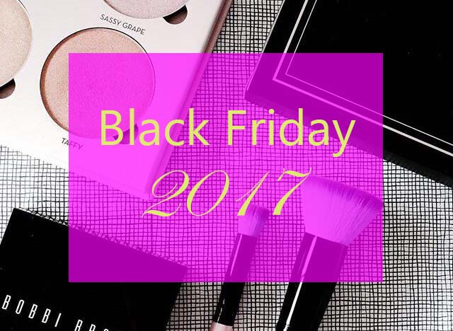 Alle beauty & make-up BLACK FRIDAY deals 2017!