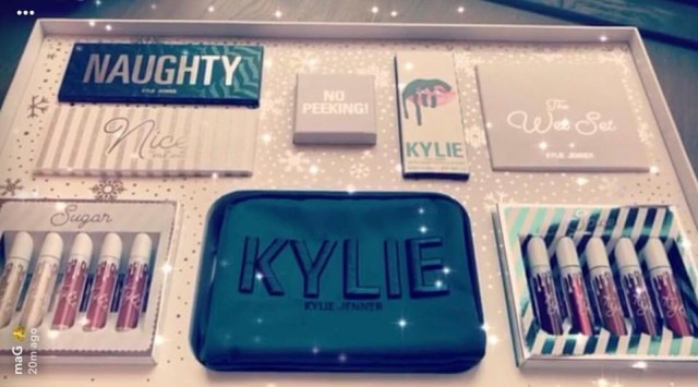 kylie cosmetics holiday collectie 2017