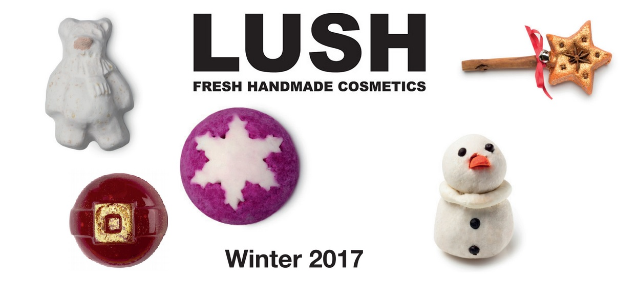 LUSH winter- & kerstcollectie 2017!