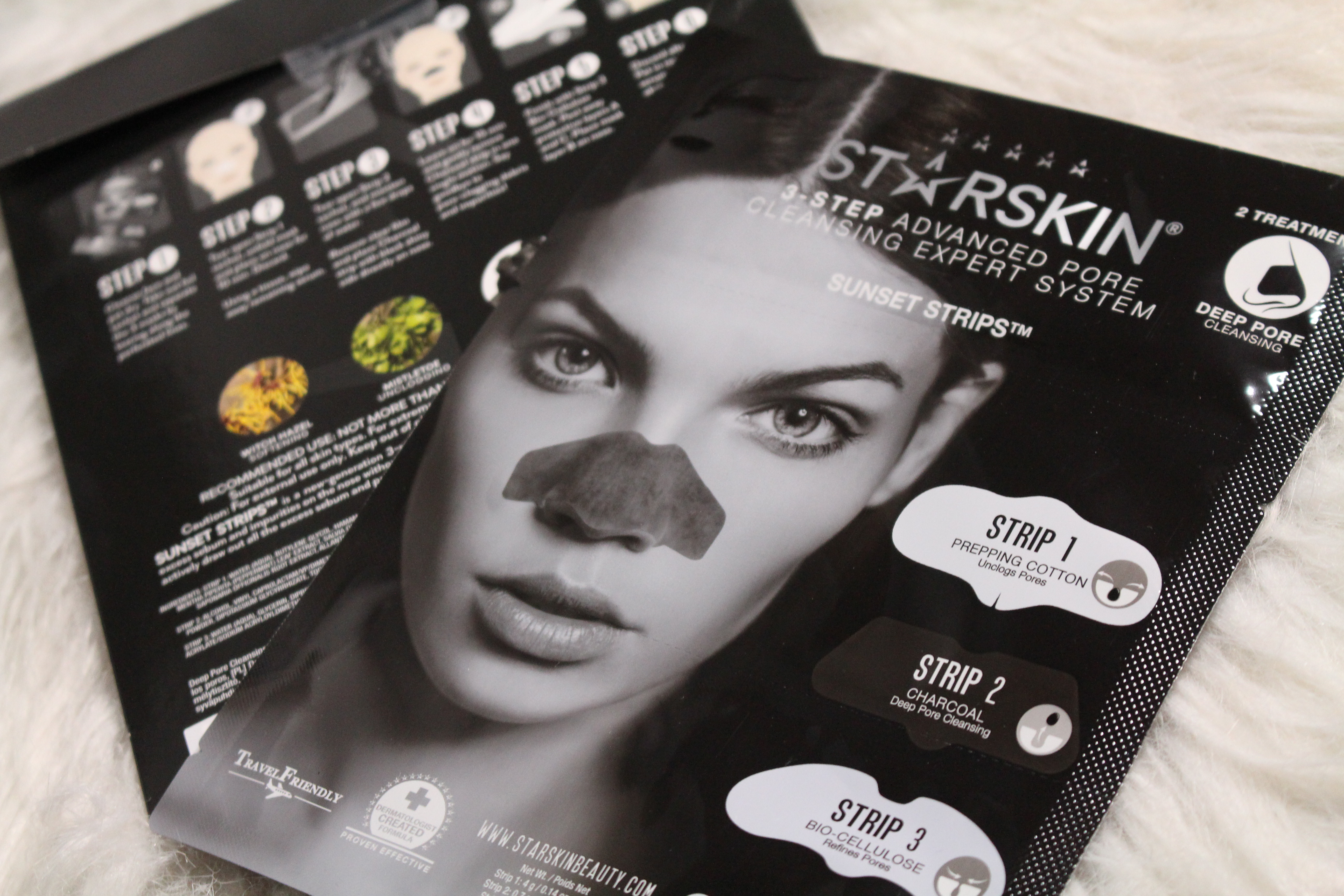 STARSKIN 3-step advanced pore cleansing Sunset Strips | Review