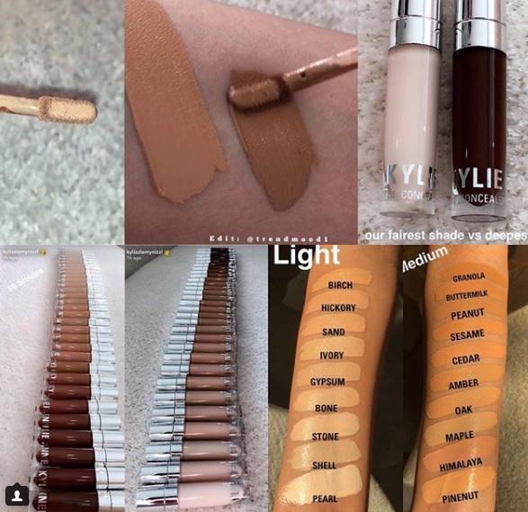 Kylie Cosmetics brengt ons 30 tinten concealer! | Info & swatches