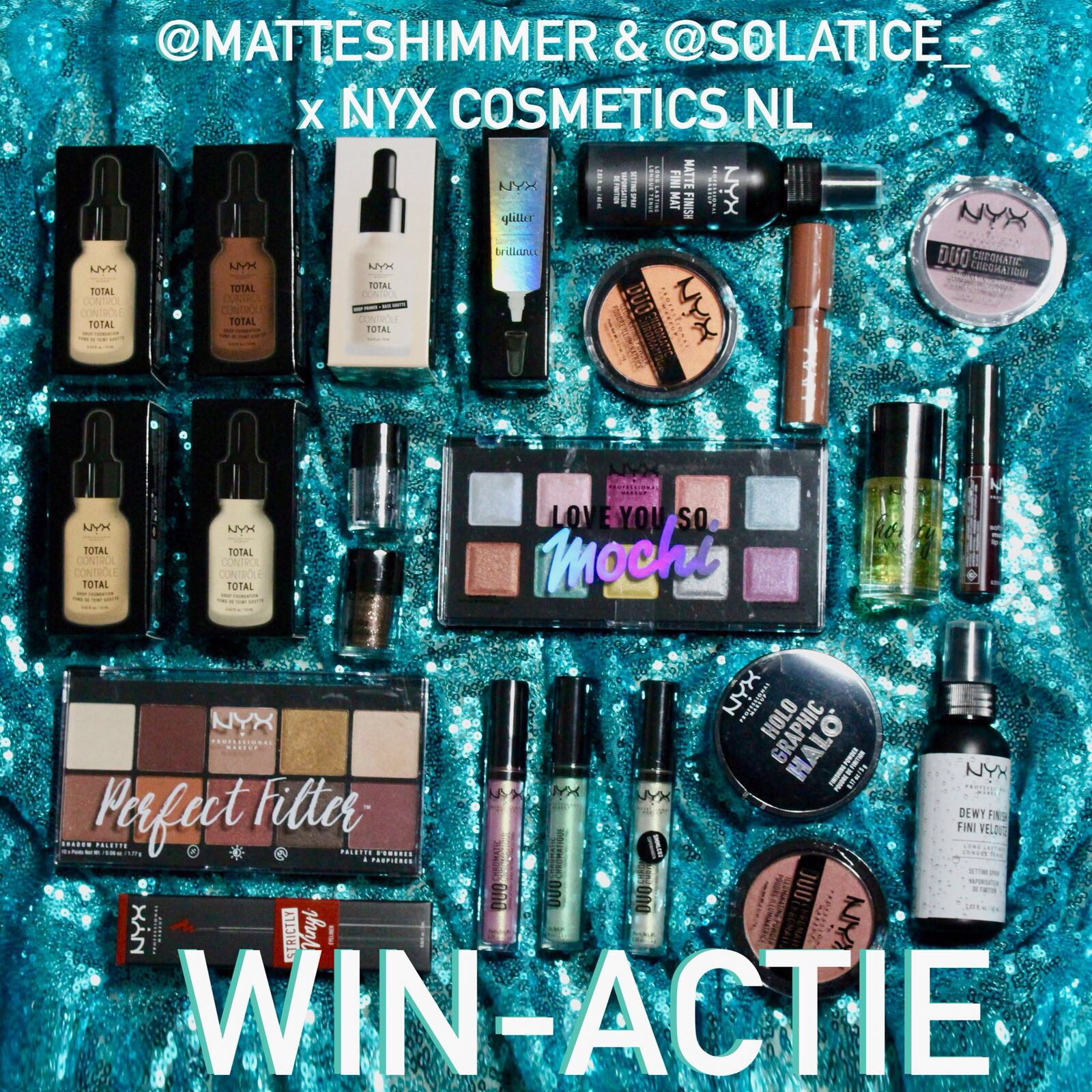 WINACTIE | Win dit hele NYX cosmetics make-up pakket!