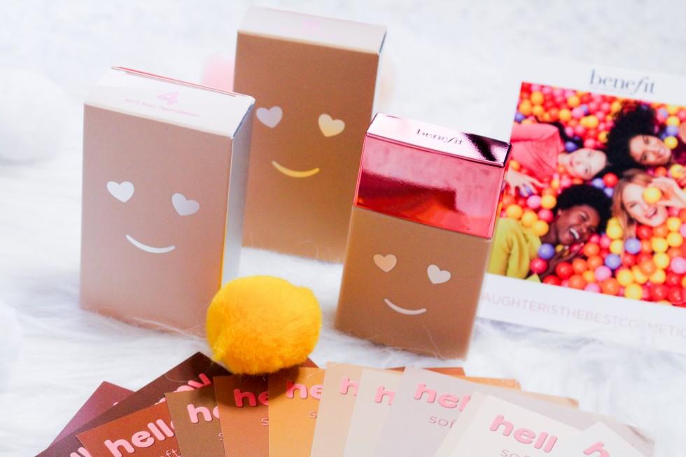 benefit hello happy soft blur foundation review