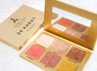 Jeffree Star Cosmetics 24 Karat Skin Frost Palette review