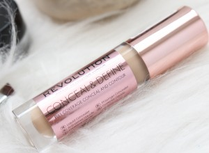 makeup revolution conceal and define concealer review