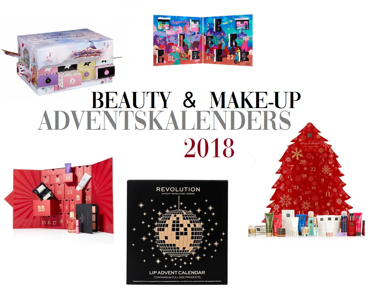 De leukste beauty & make-up adventskalenders van 2018!