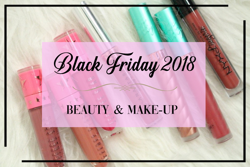 Alle beauty & make-up Black Friday 2018 acties op een rijtje!