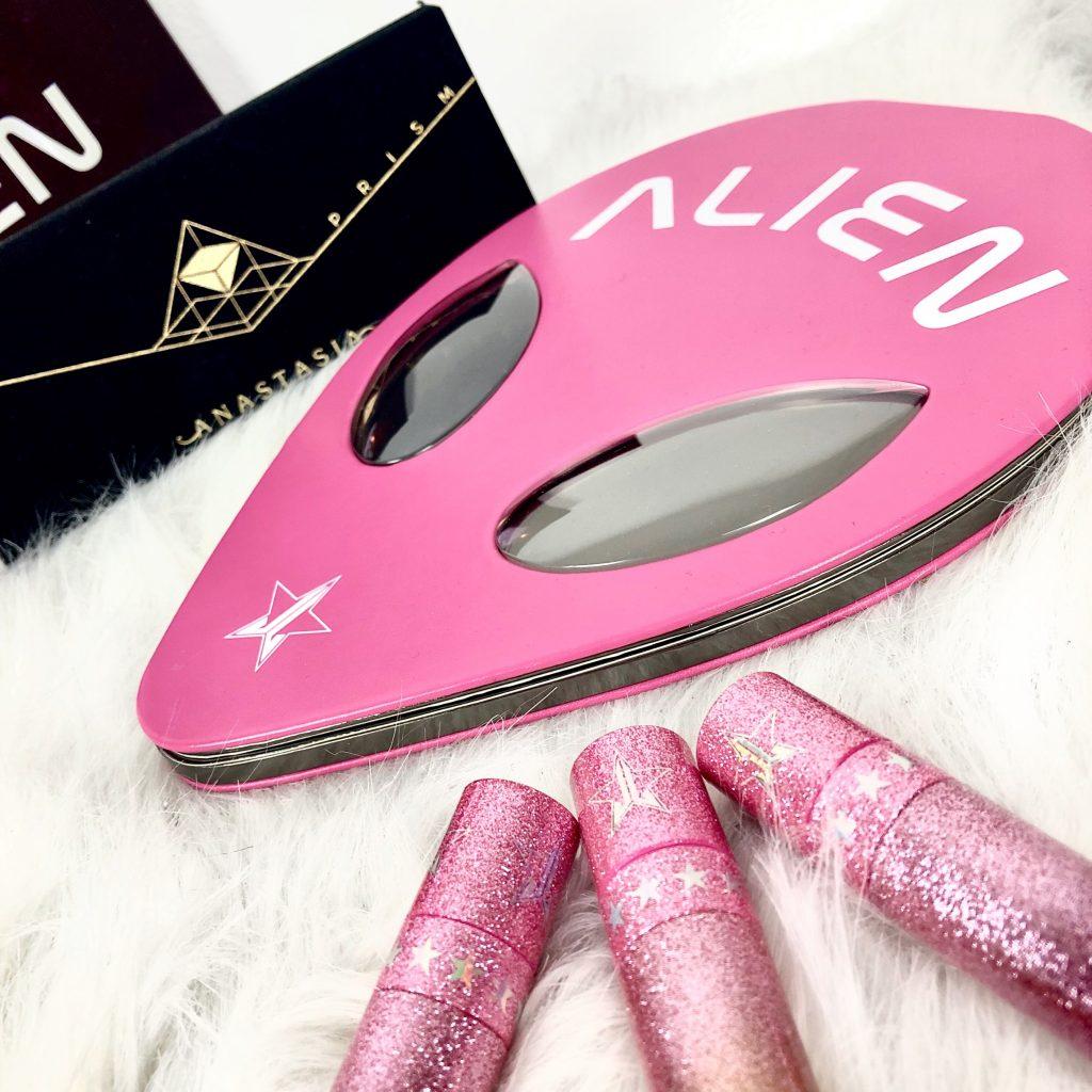 jeffree star cosmetics alien palette review