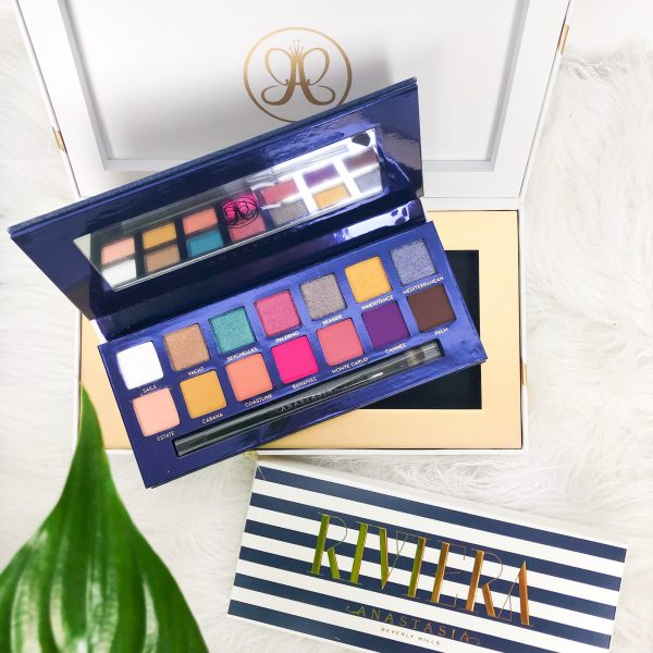 Anastasia Beverly Hills RIVIERA palette   Review & look