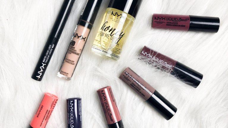 nyx favoriete makeup producten