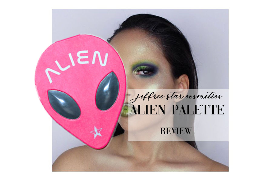 jeffree star cosmetics alien palette review