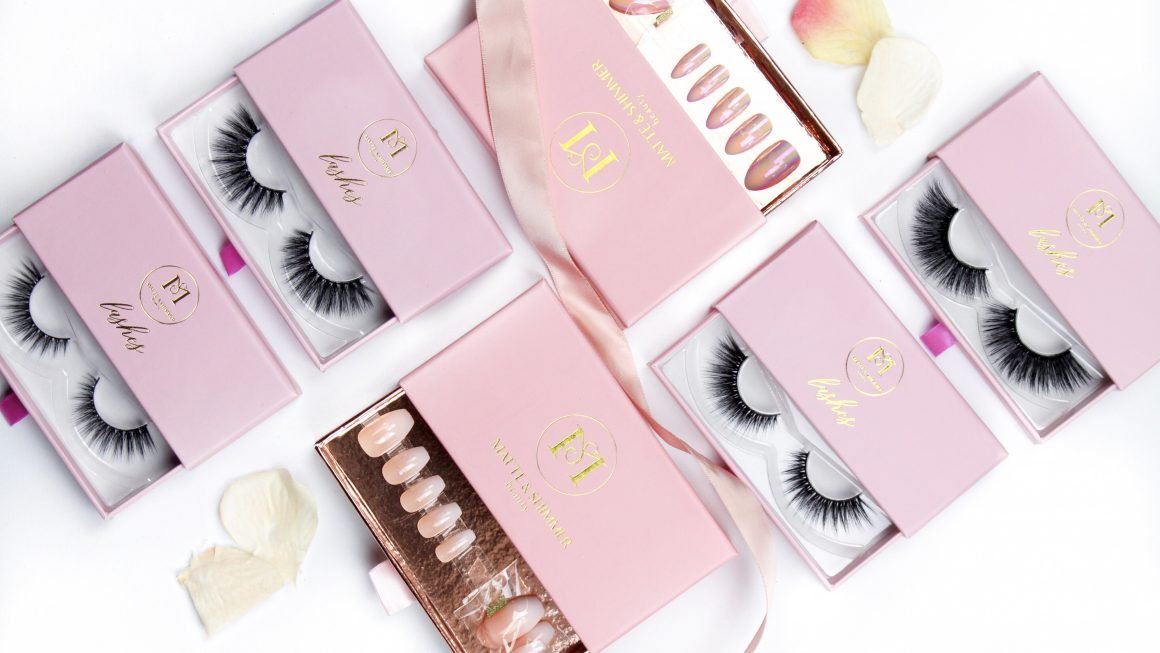 matte shimmer beauty lashes nepwimpers plakwimpers