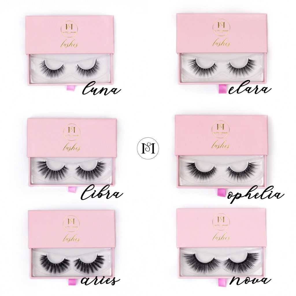 matte shimmer beauty lashes nep wimpers plakwimpers