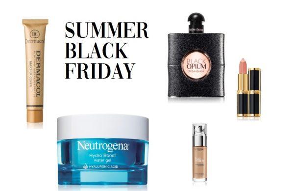 Korting op wel 50 beauty merken tijdens deze zomer Black Friday 2019!