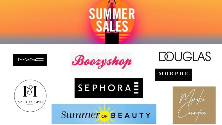 summer sale beauty make-up zomer 2019 uitverkoop