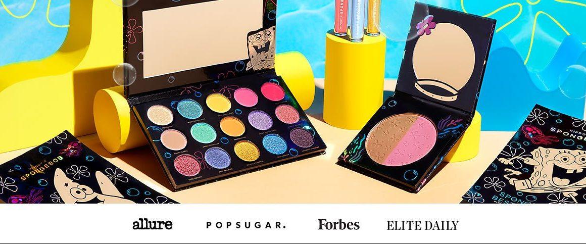 spongebob makeup collectie beauty