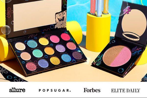 Dit make-up merk heeft een Spongebob collectie uitgebracht!