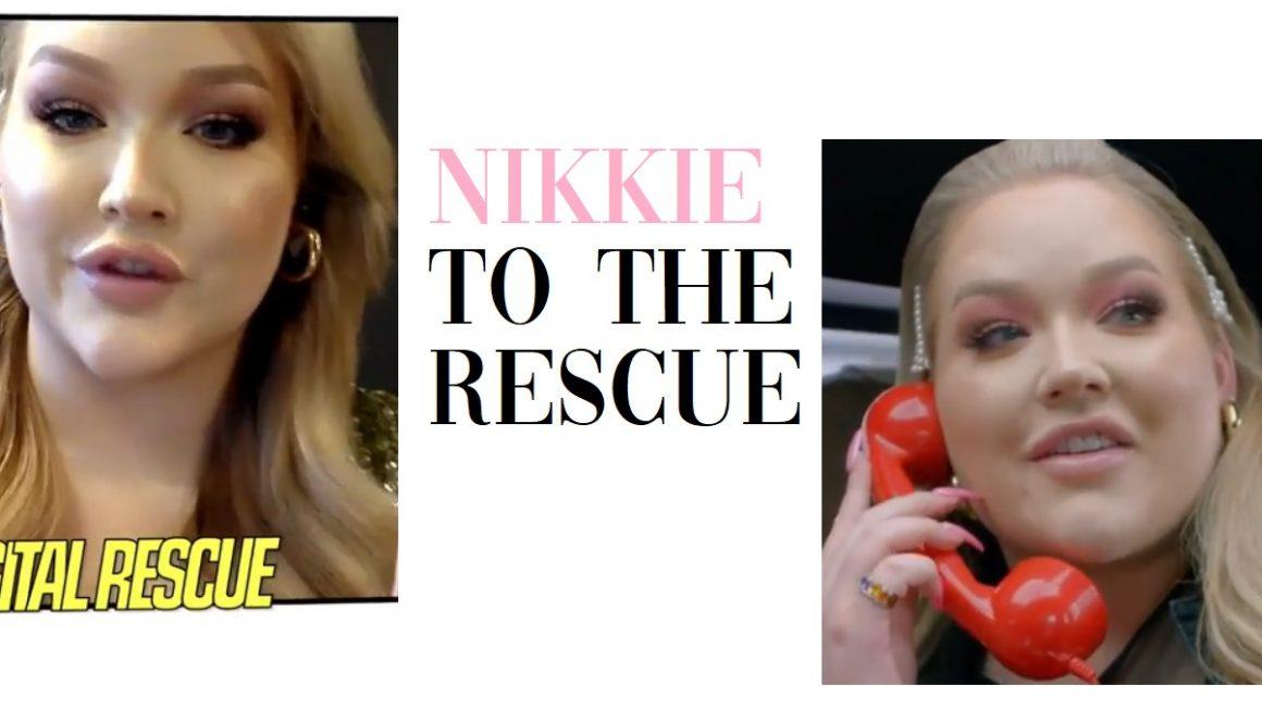 nikkie to the rescue nikkietutorials youtube show
