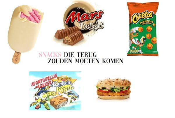 De beste snacks die weer terug zouden moeten komen!