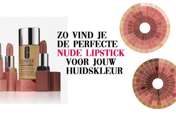 Dé perfecte nude lipstick kleur vind je zo – met je foundation kleur!