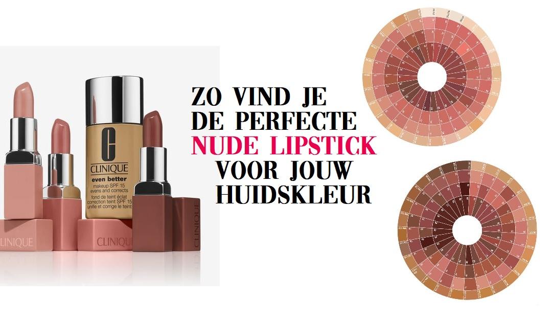 Dé perfecte nude lipstick kleur vinden doe je zo - met je foundation kleur!
