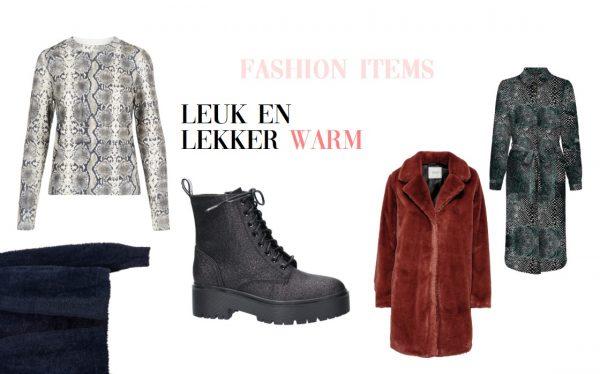 Deze herfst & winter fashion items zijn leuk én lekker warm