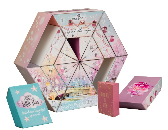 essence beauty make-up adventskalender 2019