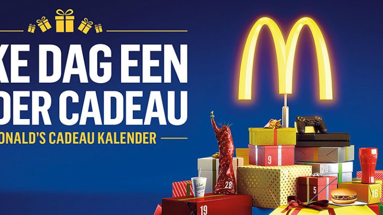 mcdonalds adventskalender 2019 cadeaukalender nederland