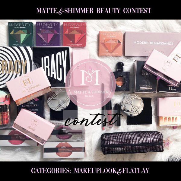 Matte & Shimmer Beauty wedstrijd: doe mee met een make-up look of flatlay!
