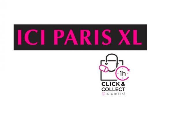 Je kan vanaf nu al na 1 uur wachten je ICI Paris XL bestelling in handen hebben